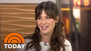 zooey deschanel on classic bill murray daughter elsie otters name today