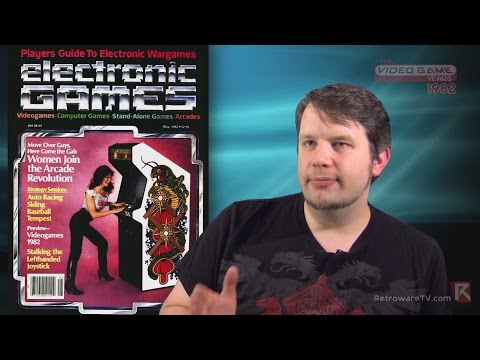 Electronic Games Magazine (1982) Feat. Chris Kohler - Video Game Years History