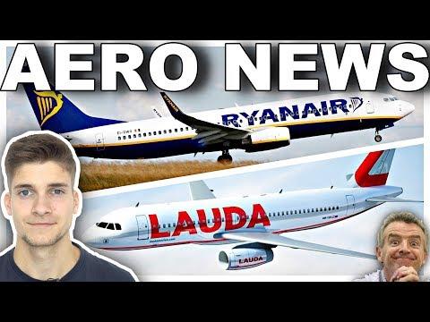 Der RYANAIR Masterplan mit LAUDAMOTION! AeroNews