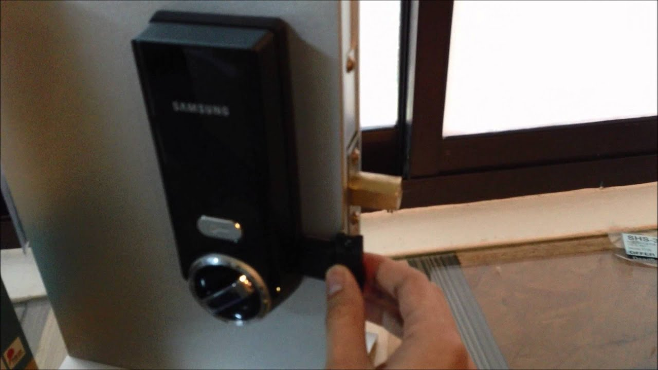 Samsung Shs 3320 Rfid Digital Dead Bolt Youtube