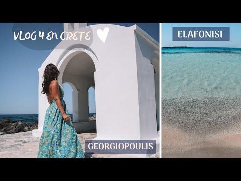 Crète : Elafonisi, Rethymnon, Georgiopoulis, Moni Arkadi.. on continue le voyage en Grèce 💙