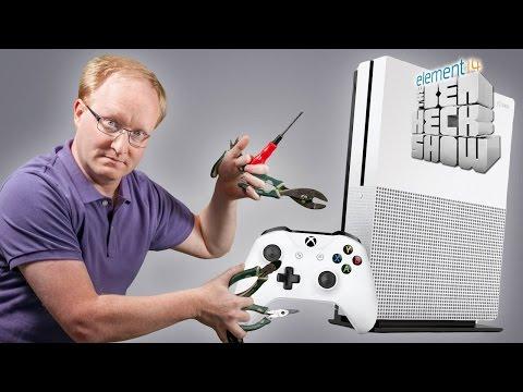 Ben Heck's Xbox Slim Teardown