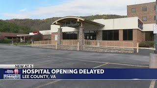 Lee County Hospital will not open by December deadline, officials say
