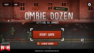 Zombie Dozen(by Hardworker Studio) - iOS - iPhone/iPad/iPod Touch Gameplay