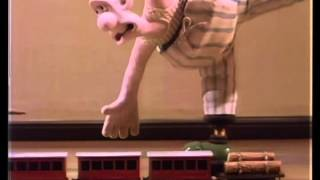 Wallace & Gromit Ep. #2 Wrong Trousers: Train Chase (English)