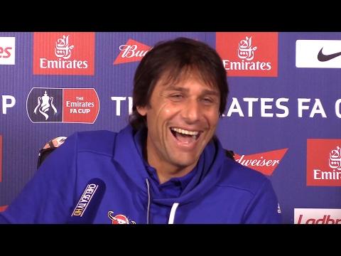 Antonio Conte Full Pre-Match Press Conference - Wolverhampton Wanderers v Chelsea - FA Cup