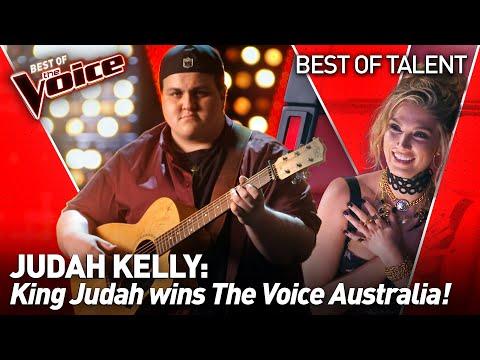 SPECTACULAR SINGER 'King Judah' in The Voice   All Full Performances