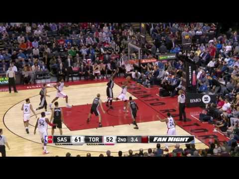 San Antonio Spurs vs Toronto Raptors | January 24, 2017 | NBA 2016-17 Season