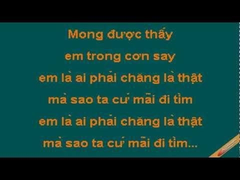 Dem Dinh Menh Karaoke - Tuấn Hưng - CaoCuongPro