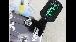 Гитарный тюнер. Легкий способ настроить гитару.