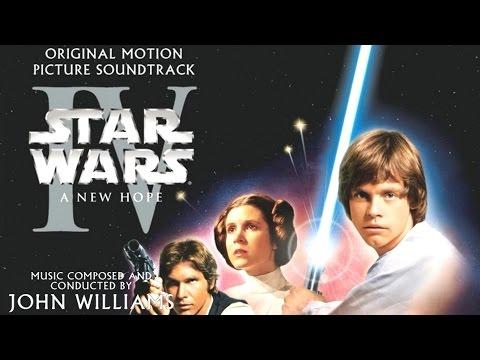 Star Wars Episode IV A New Hope (1977) Soundtrack 06 The Hologram Binary Sunset Medley