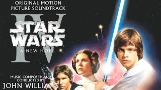 Star Wars Episode IV A New Hope (1977) Soundtrack 06 The Hologram Binary Sunset Medley