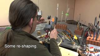 Glass Paperweight Making