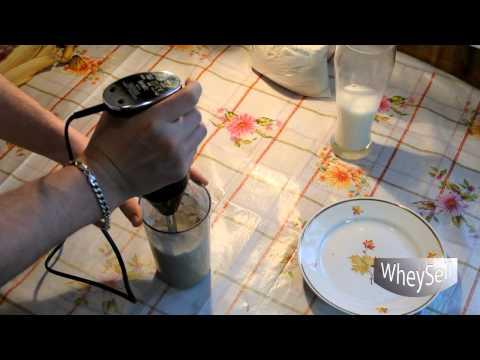 Протеиновый коктейль с бананом - рецепт приготовления