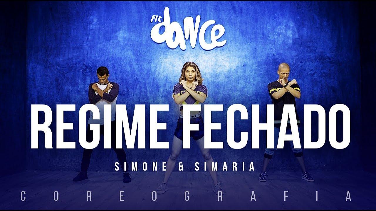 Regime Fechado - Simone & Simaria    FitDance TV (Coreografia) Dance Video
