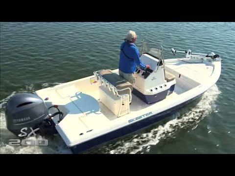Skeeter boats sx 200 saltwater fishing boat youtube for Saltwater fishing boat