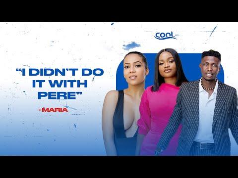 "Download ""I didn't do it with Pere"" - Maria #bbnaija #bbnaijashineyaeye"