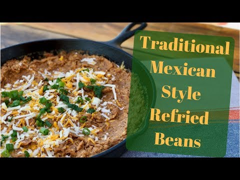 Best Authentic Refried Bean Recipe