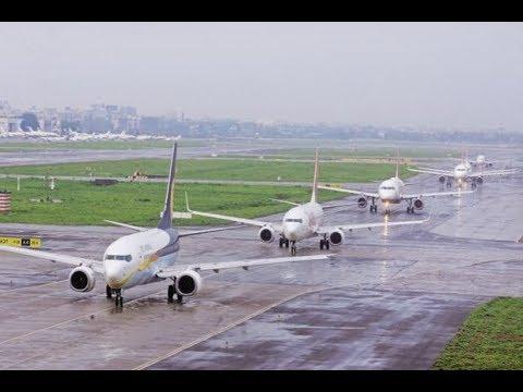 Rajiv Gandhi International Airport Hyderabad  Runway.