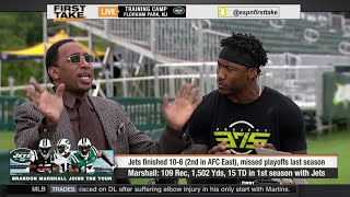 Brandon Marshall Interview On Antonio Brown, Jay Cutler and Jets