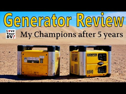 Champion Inverter Generator Review after 5 Years of Use