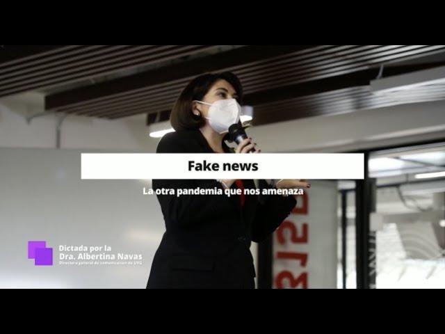 Promo - Charla Fake news, la pandemia paralela