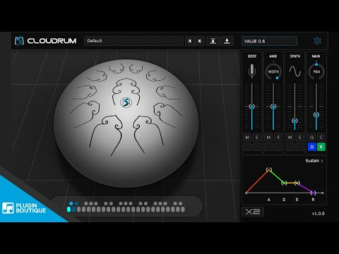 100% FREE VSTi - Cloudrum by Ample Sound | a Beautiful Steel Tongue Drum Plugin