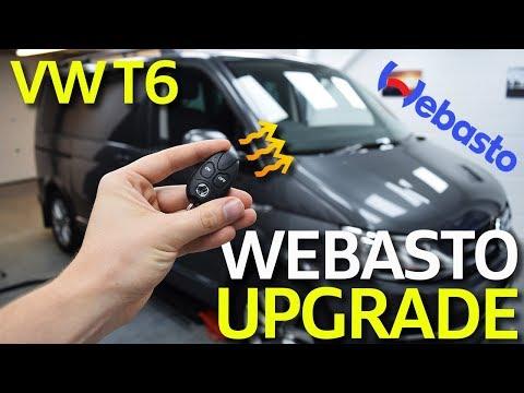 Volkswagen Transporter T6 Webasto Remote Upgrade