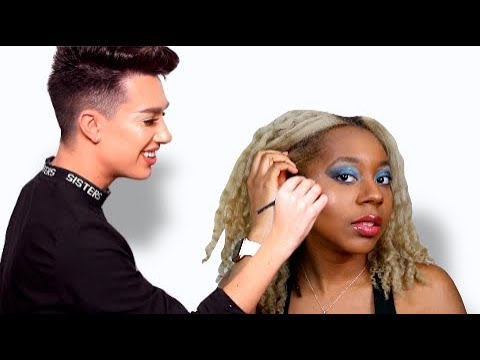 RECREATING JAMES CHARLES LOOK ON IGGY AZALEA | SAME OF DARKER SKIN?? thumbnail