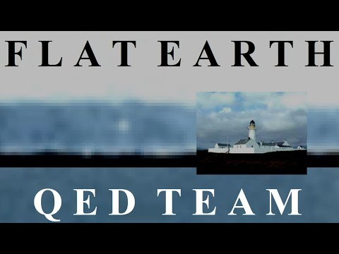 Flat Earth QED demonstration by Nathan Oakley ✅