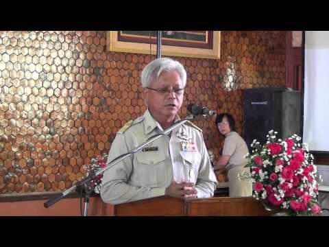ปัจฉิมนิเทศ -2556-ประธานกล่าวเปิดงาน