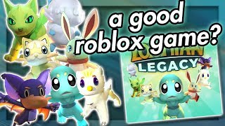 Roblox Actually Has A Good Game (Loomian Legacy)