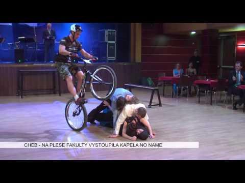 Cheb: Na plese fakulty vystoupila kapela No Name (TV Západ)