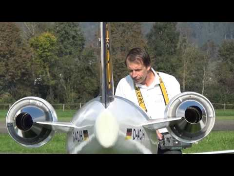 Biggest R/C Airliner Bombardier CRJ 200 Lufthansa Double Turbine Jet Airplane