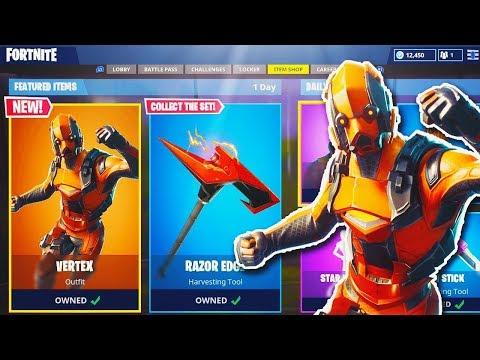 new vertex skin gameplay in fortnite new fortnite update fortnite battle royale - fortnite skin vertex