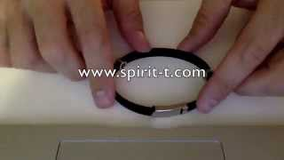 Anti EMF Wristband with negative Ions