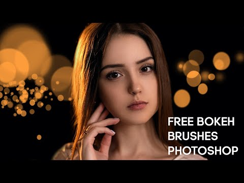 FREE Bokeh Brushes For Photoshop | Photoshop Tutorial thumbnail