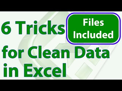 6 Tricks to Quickly Clean Data in Excel