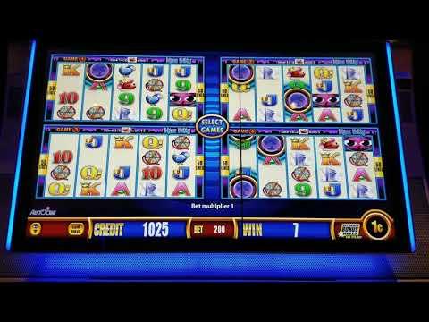 LIVE PLAY Wonder 4 Slot machine - Miss Kitty - 7/6/17