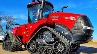 CASE IH 620 QUADTRAC- HARVEST PROBLEMS