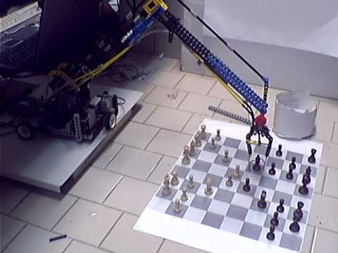 The Turk - Chess playing Lego Mindstorm robotic arm