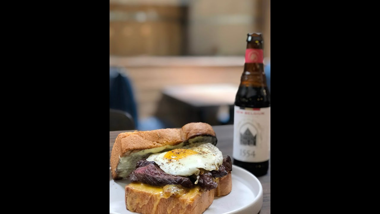Home Cookin' For A Cause with Jake Maddux of The Brewer's Table - 1554 Skirt Steak Sandwich