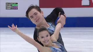 Фигурное катание Чемпионат Европы 2020 Спортивные пары Короткая программа Павлюченко и Ходыкин
