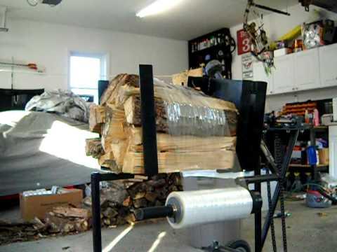 wood bundler machine
