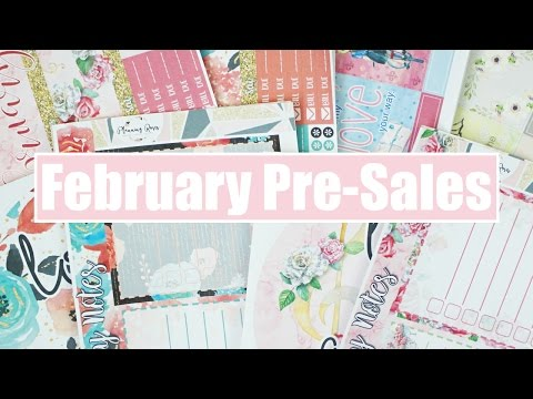 February Pre-Sales & Layout Changes!
