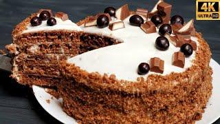 ТОРТ НА СКОВОРОДЕ ЗА 40 МИНУТ ДУХОВКА БОЛЬШЕ НЕ НУЖНА Шоколадный ТОРТ НА ПРАЗДНИК ОРАЗА АЙТ