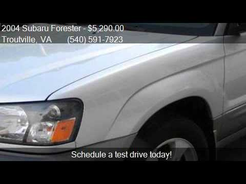 2004 Subaru Forester XS AWD 4dr Wagon for sale in Troutville
