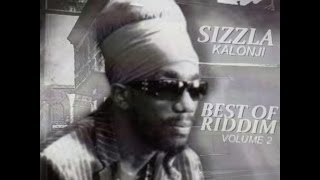 "BRAND NEW***2013 SIZZLA KALONJI ""BEST OF RIDDIM VOL 2"""