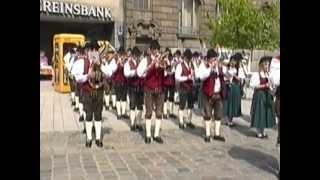 Platzkonzert TMK Hof b. Salzburg in Hof/Saale, Teil 3, 92er Regimentsmarsch