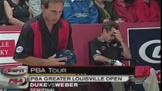 2001 Pete Weber vs Norm Duke Part 1